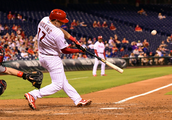 Hoskins goes deep, Nola goes 7 solid, Phils beat Pirates